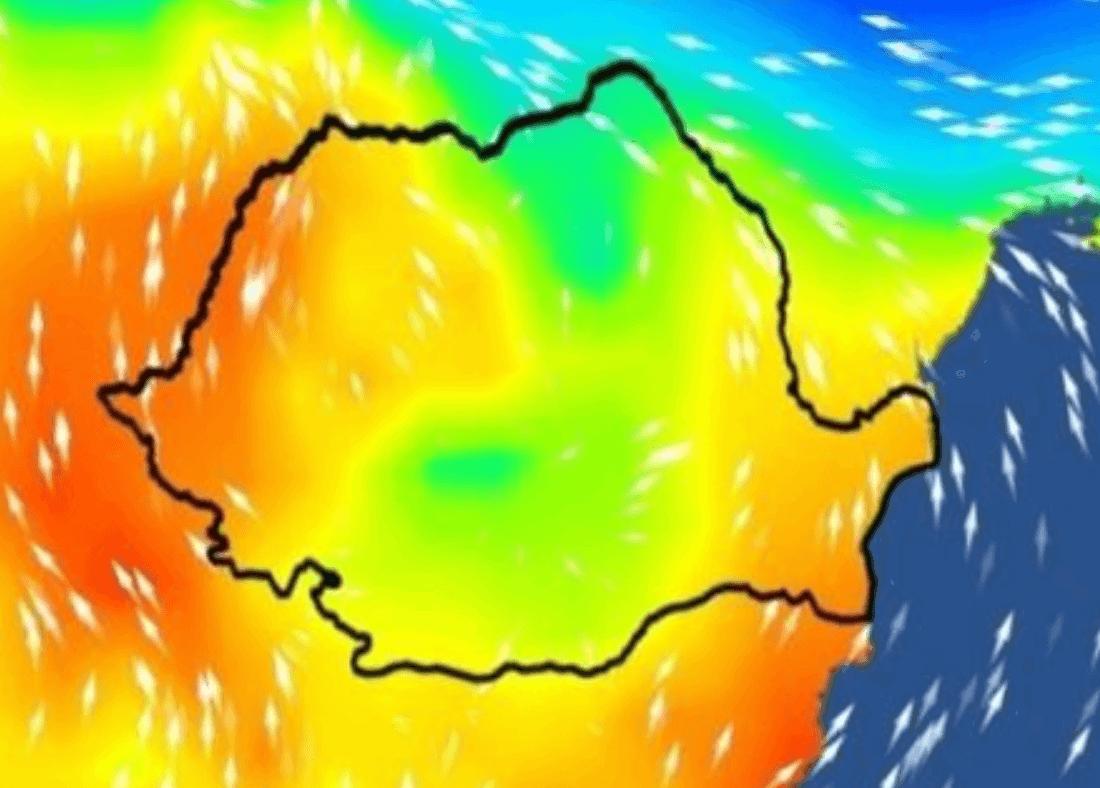 anm prognoza meteo val caldura romania
