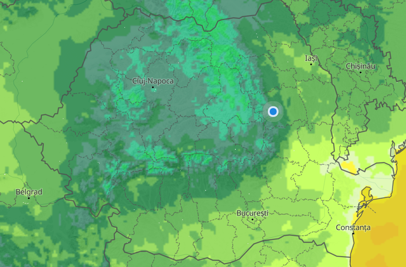 anm temperaturile scad brusc românia frigul